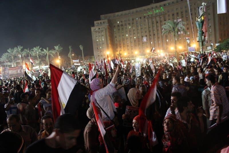 Квадрат Tahrir стоковое изображение