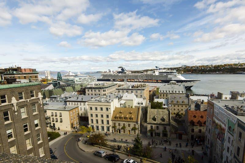 Квебек (город) - Канада стоковые фотографии rf