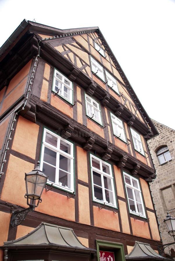Кведлинбург, Германия стоковая фотография