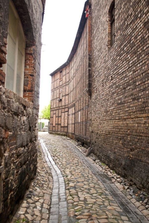 Кведлинбург, Германия стоковые фотографии rf