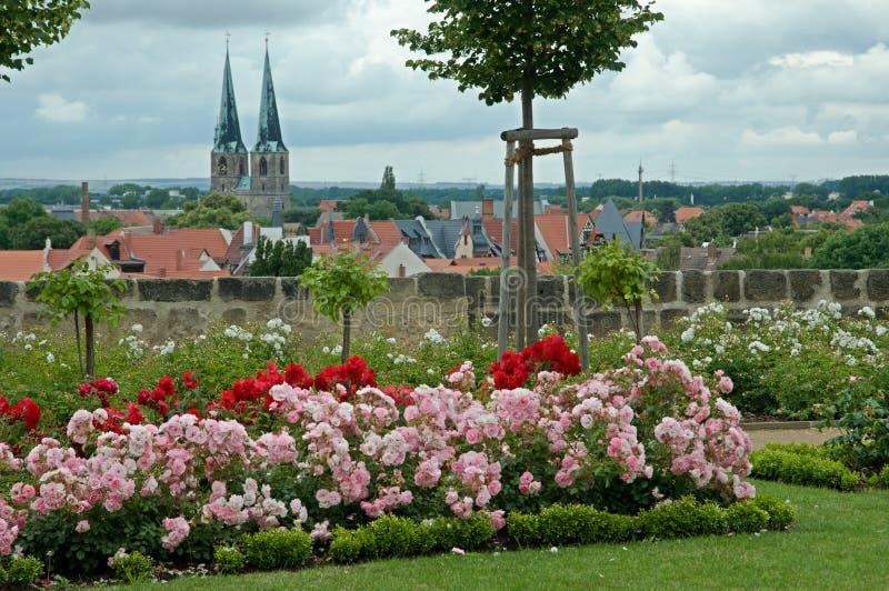 Кведлинбург, Германия стоковое изображение