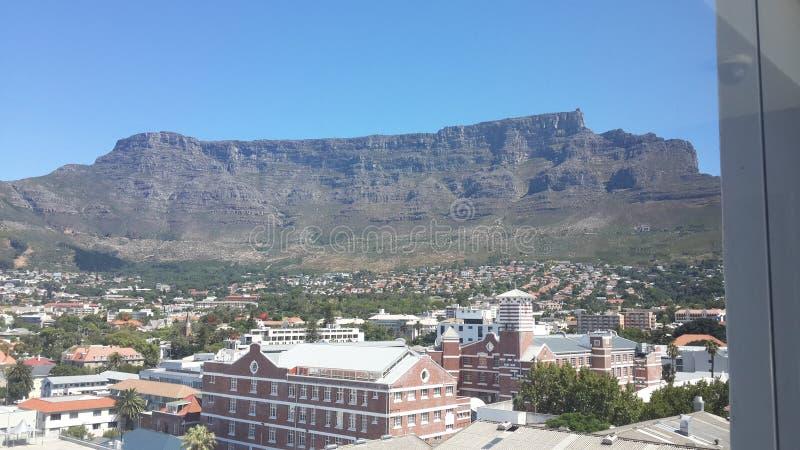 Кейптаун - гора таблицы стоковое изображение rf
