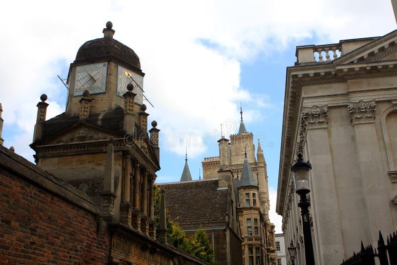 Кембридж, Англия стоковое фото