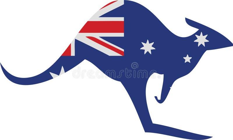 Download кенгуру Австралии иллюстрация штока. иллюстрации насчитывающей цветы - 6860370