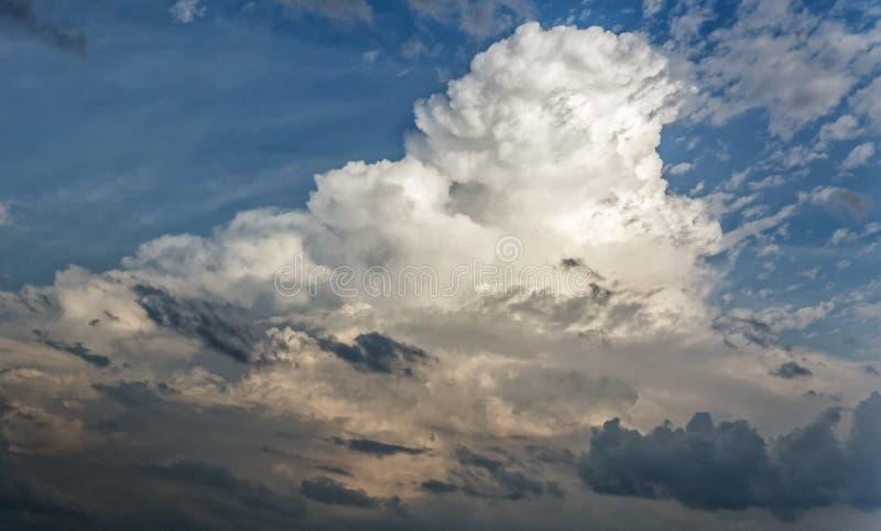 Кентукки Cloudforms стоковое изображение