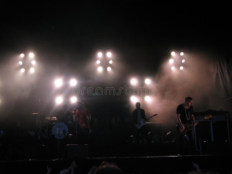 Кент живет в концерте в Осло, 2012 стоковые изображения rf