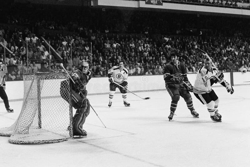 Кен Dryden, Монреаль Canadiens стоковое фото