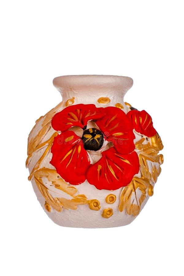 керамическая ваза стоковые изображения