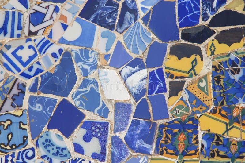 Керамическая предпосылка мозаики. стоковые изображения