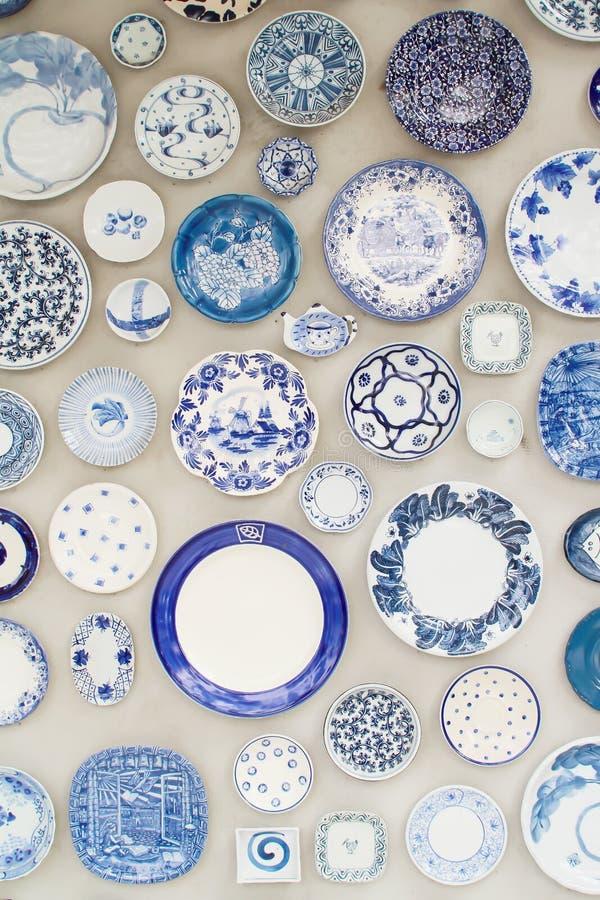 Керамическая стена декоративная стоковая фотография rf