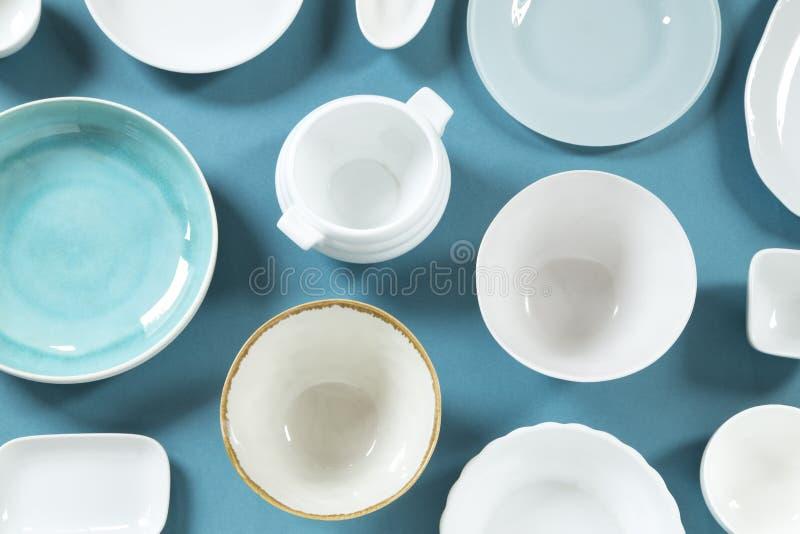 Керамические блюда стоковое изображение rf