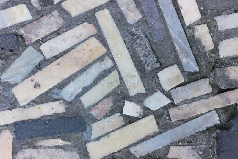 Керамические плитки вне взгляда сверху стоковая фотография