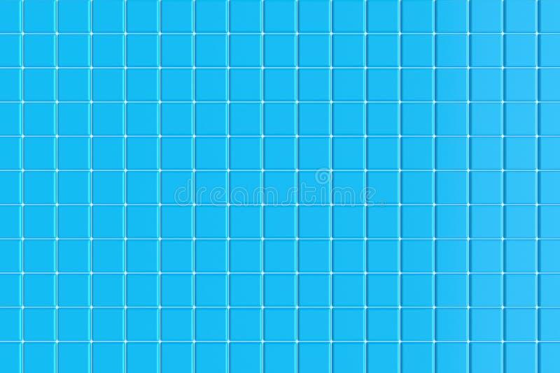 Керамические плитки для бассейна r иллюстрация штока