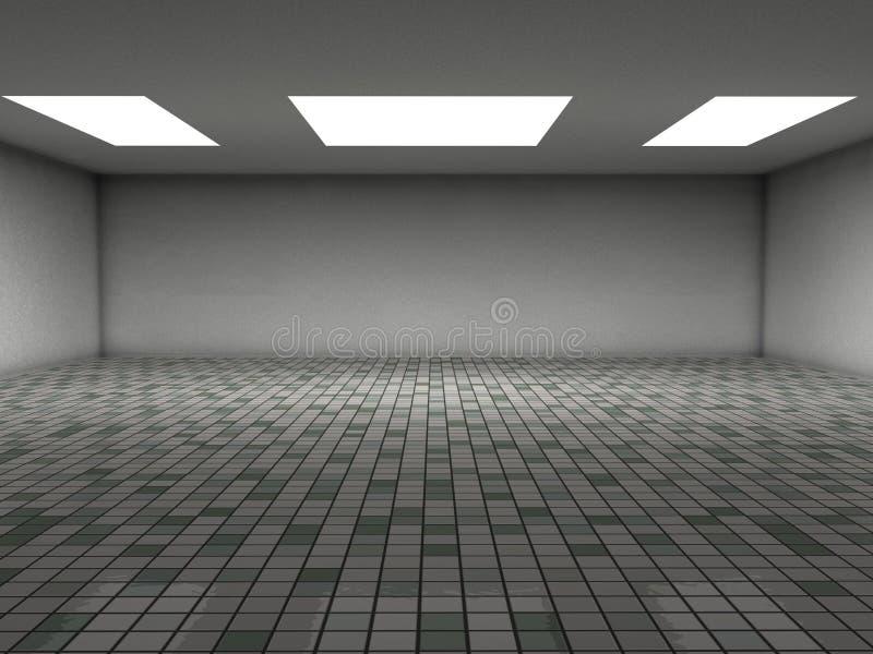 керамические плитки комнаты иллюстрация штока