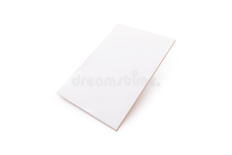 Керамические плитки на изолированной предпосылке с путем клиппирования стоковые изображения