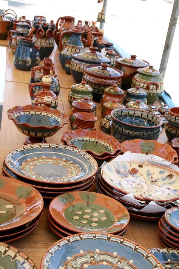 керамический сувенир Кипра стоковые изображения