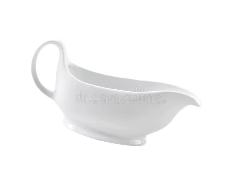 Керамический cream кувшин стоковое фото rf