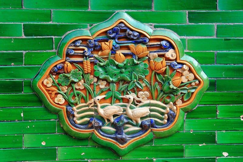 керамическим сброс города запрещенный краном стоковая фотография