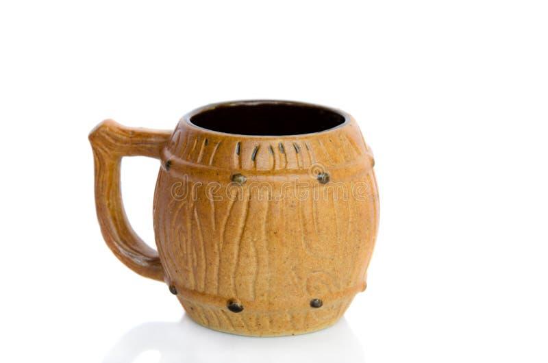 Керамическое чашка стоковые изображения rf