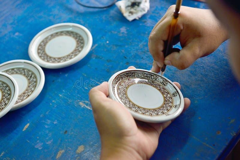 Керамическое Benjarong стоковое изображение rf