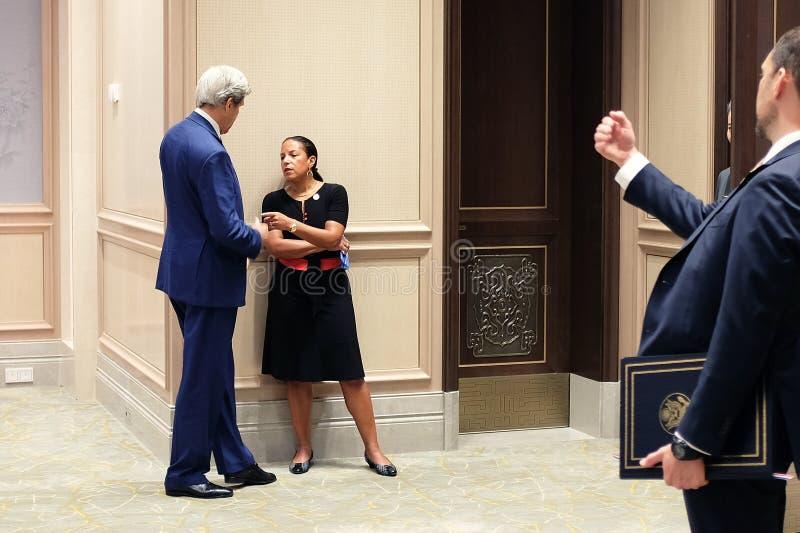 Керри Джона Forbes в саммите G20 Ханчжоу стоковые фотографии rf