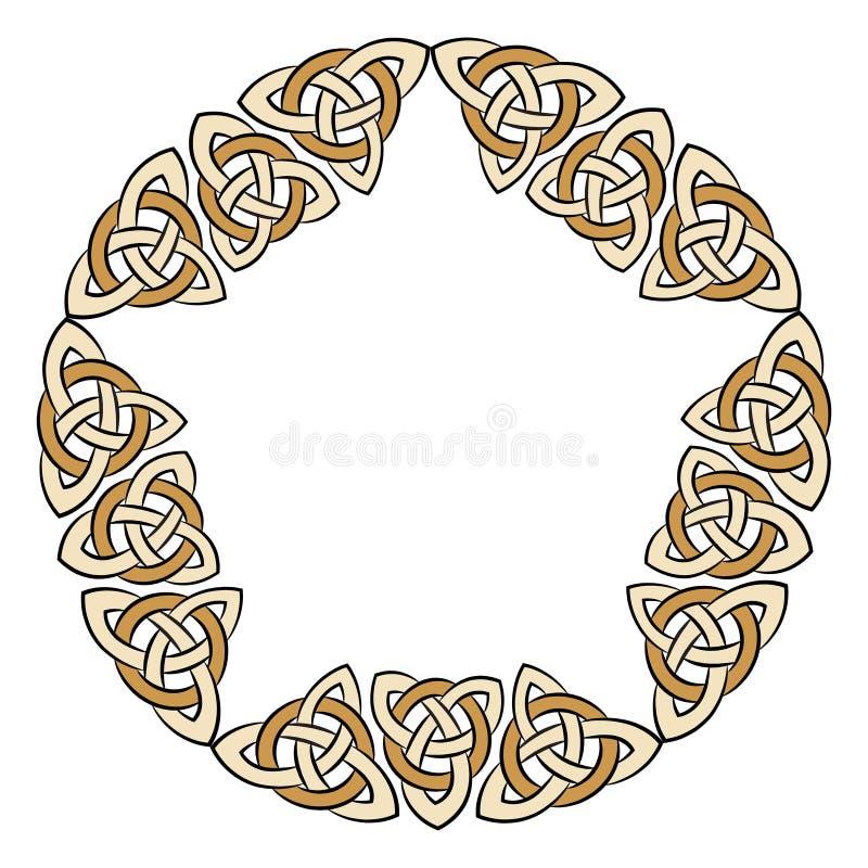 Кельтская старая картина иллюстрация штока