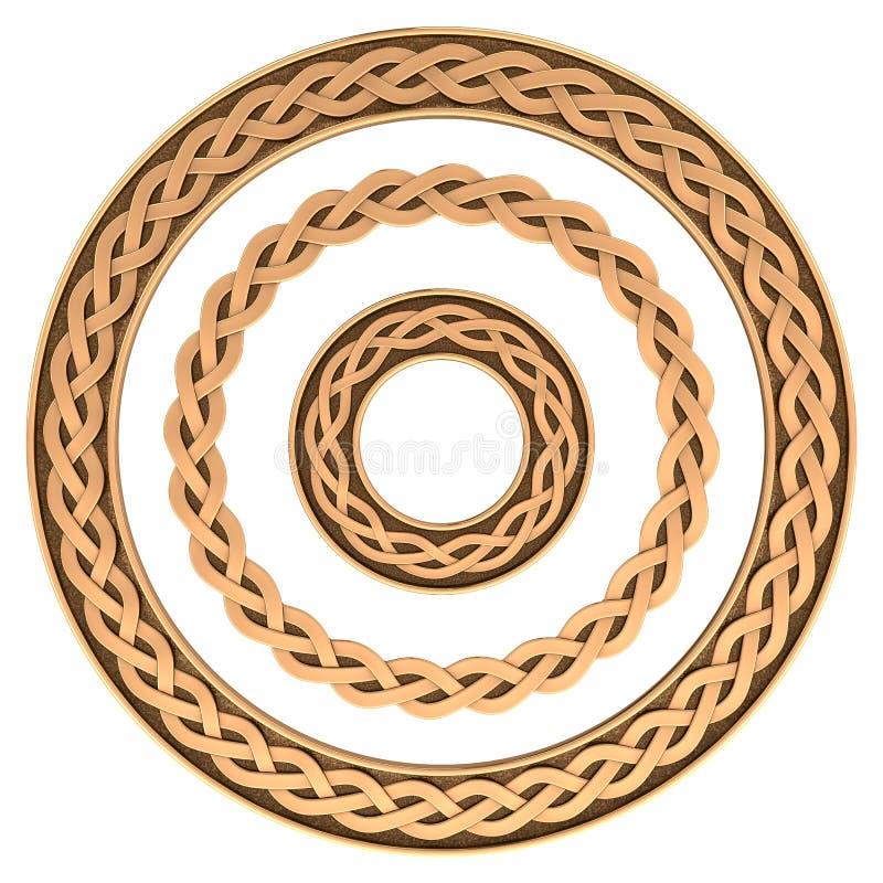 Download Кельтский комплект рамки орнамента Иллюстрация штока - иллюстрации насчитывающей boris, ретро: 41661304