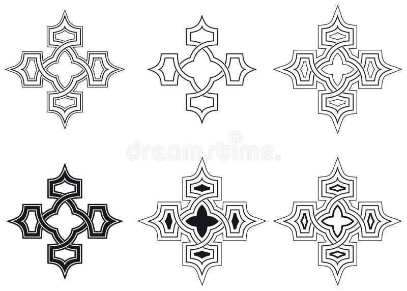 Кельтский узел иллюстрация штока