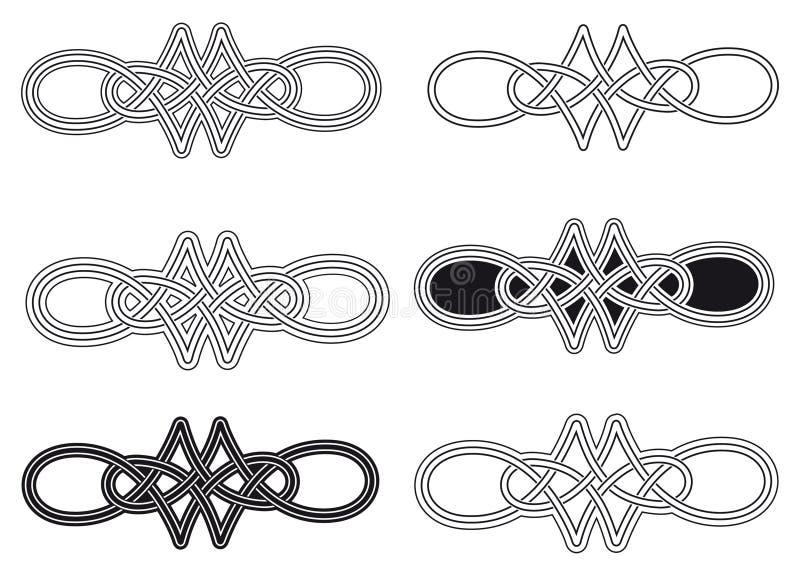 Кельтский узел иллюстрация вектора