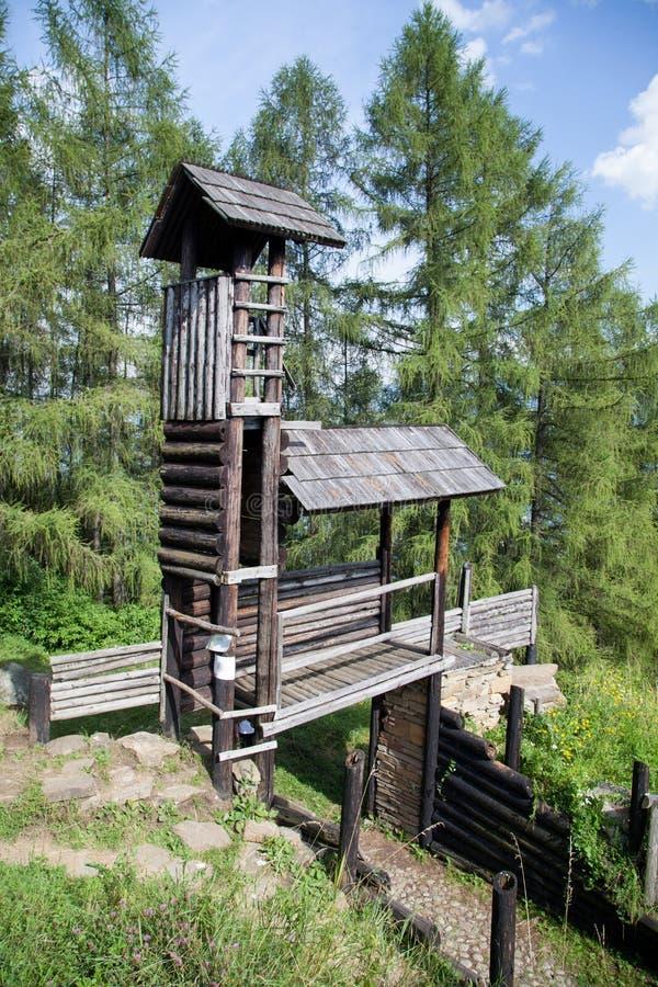 Кельтское ворот на Havranok - Словакии стоковые изображения rf