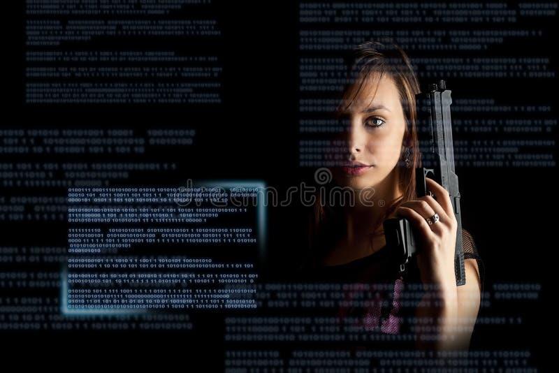 кибернетическое преступление принципиальной схемы стоковое фото rf