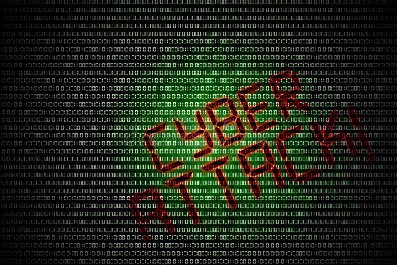 Кибер атака бесплатная иллюстрация