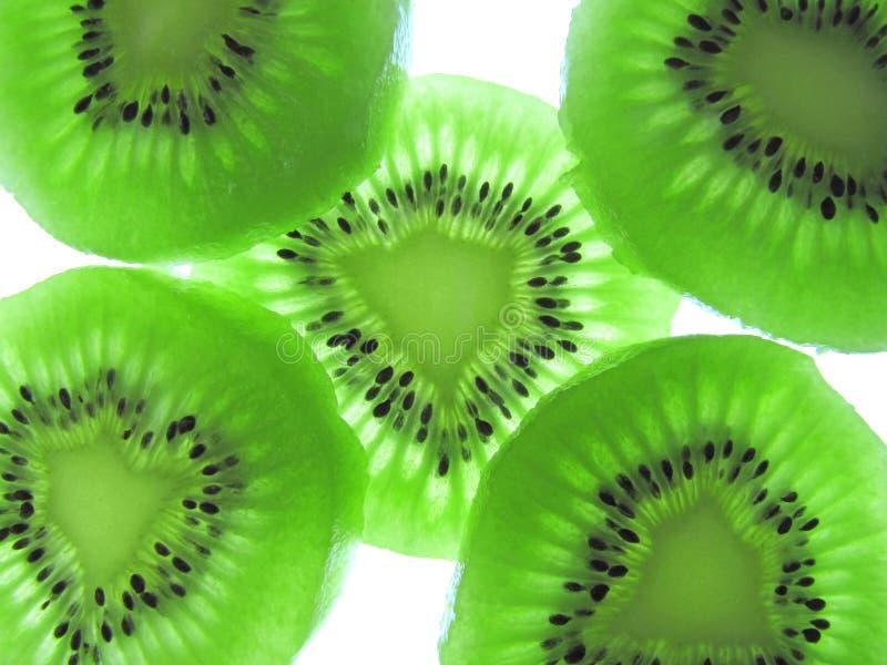 киви плодоовощ зеленый стоковая фотография
