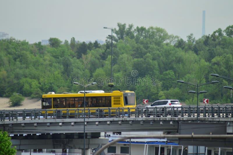 Киев, Украина Украина 7 05 2019; Переход в Киеве и городской жизни стоковое изображение rf