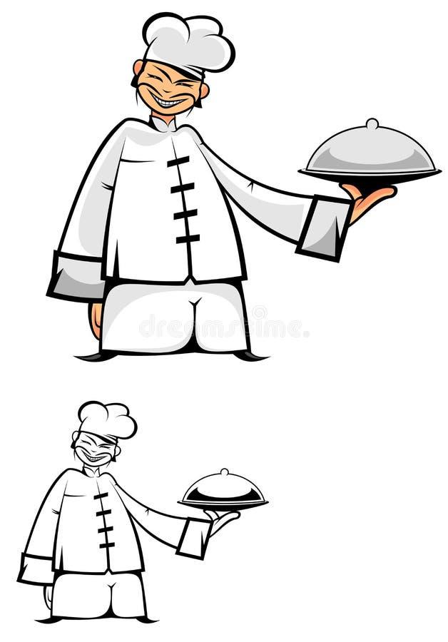 киец шеф-повара иллюстрация штока