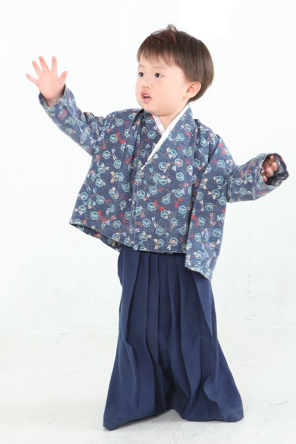 кимоно мальчика стоковые изображения