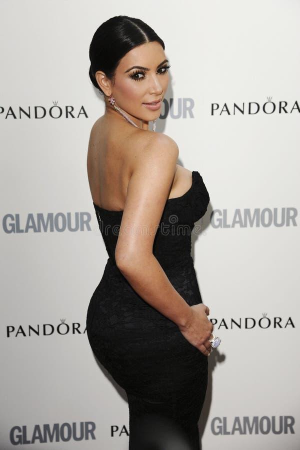 Ким Kardashian стоковое изображение