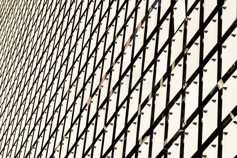 Кинетический фасад здания стоковое изображение rf