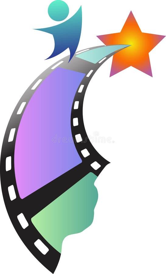 кинозвезда иллюстрация вектора