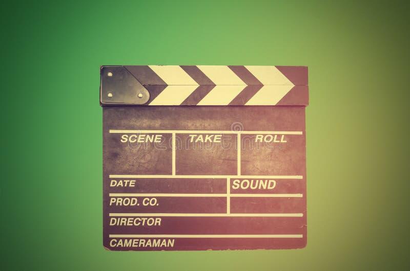 Киносъемка, clapperboard кино стоковые фотографии rf
