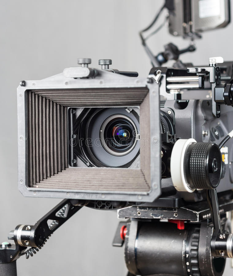 Киносъемочный аппарат кино стоковое изображение rf