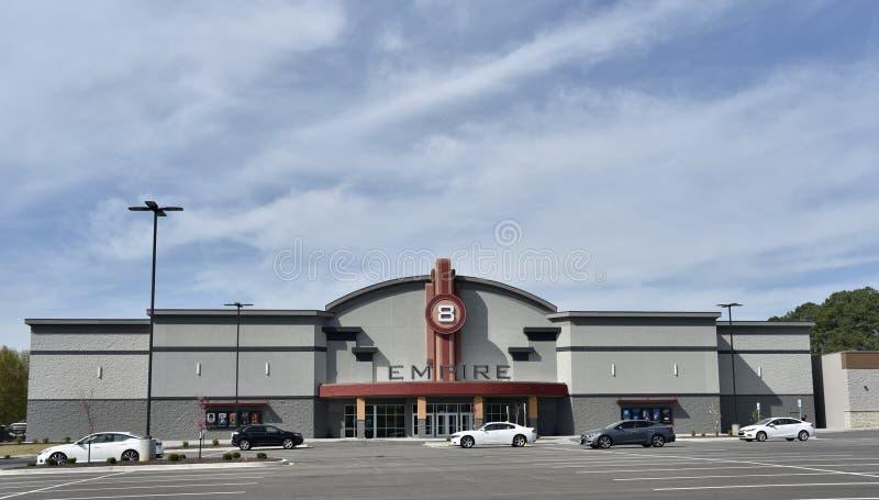 Кинотеатр империи, Джексон, TN стоковые изображения rf