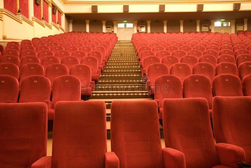 кино аудитории пустое стоковое фото rf