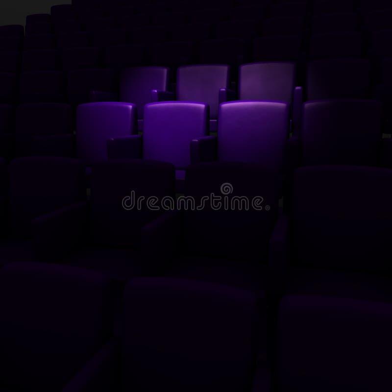 кино аудитории пустое бесплатная иллюстрация