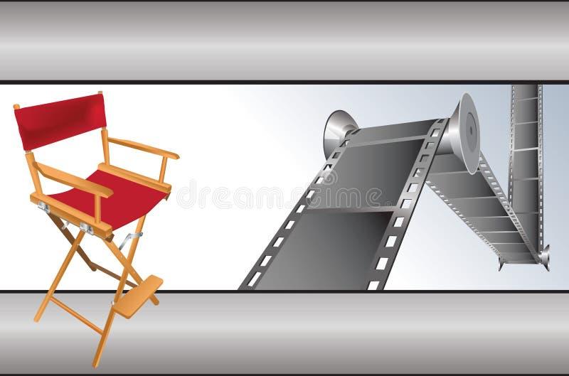 кино деталей иллюстрация вектора