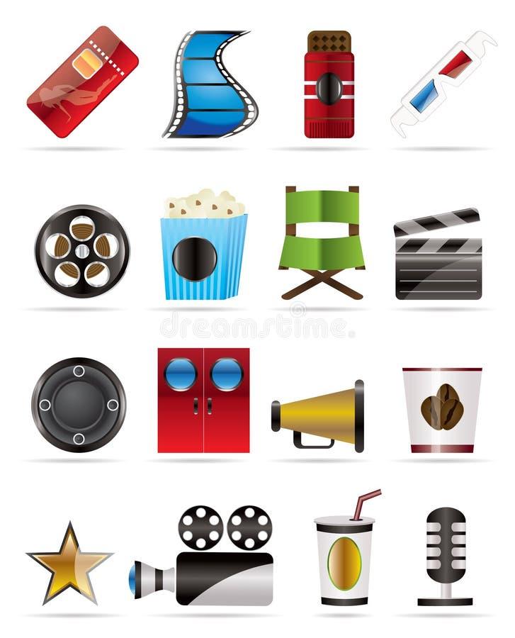 кино икон кино бесплатная иллюстрация