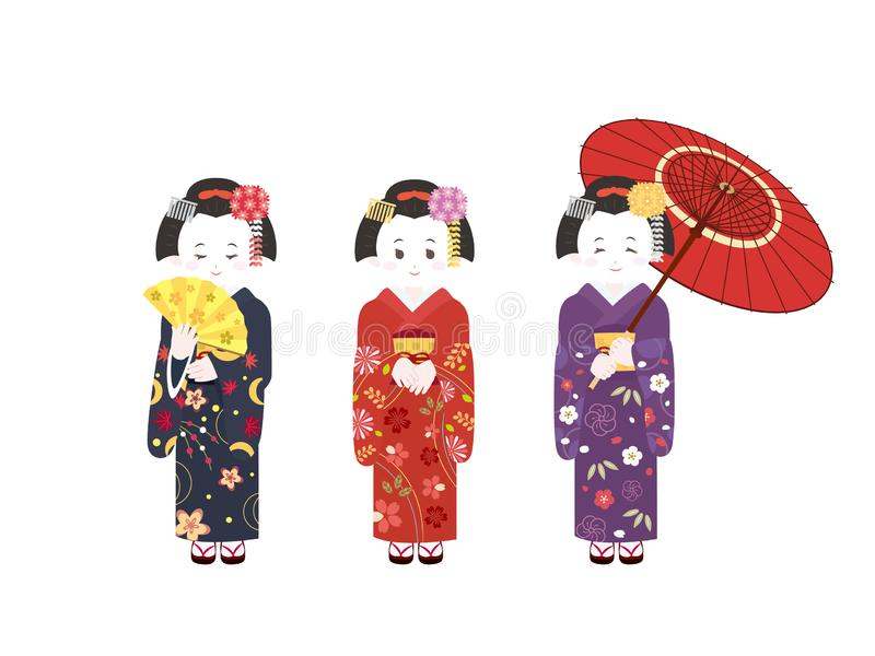 Киото Майко5 бесплатная иллюстрация