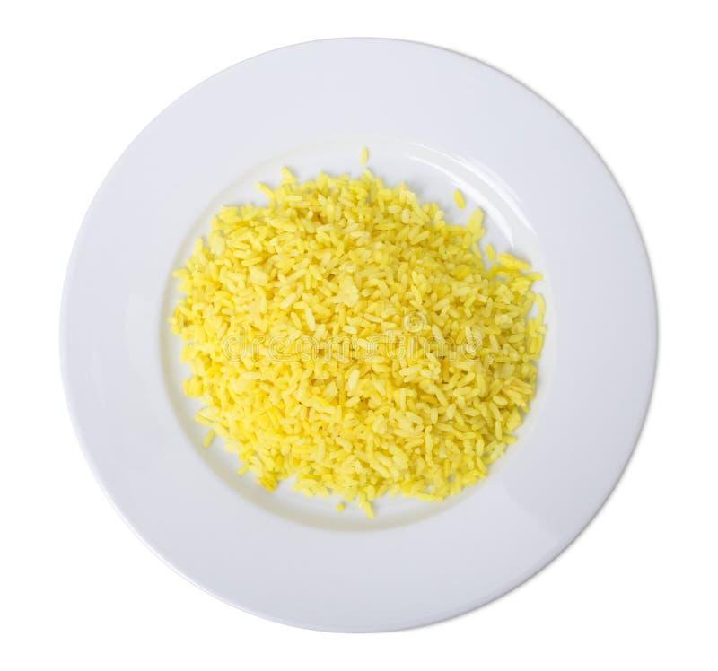 Кипеть желтый рис стоковые изображения rf