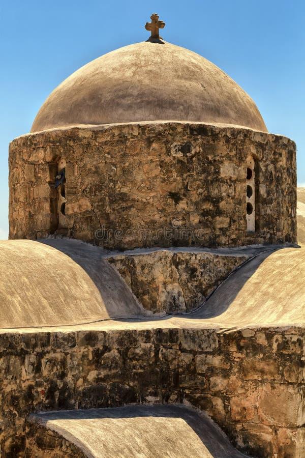 Кипрскый монастырь стоковые фотографии rf