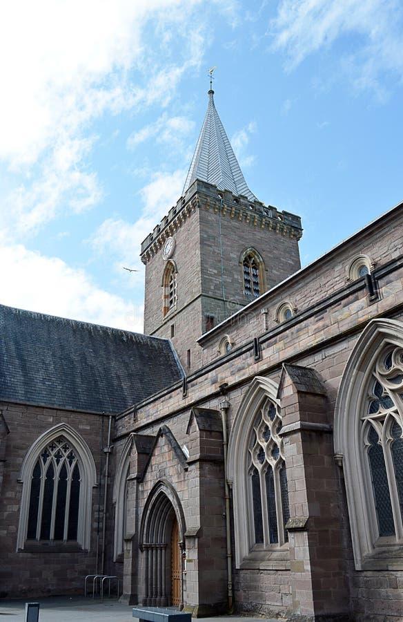 Кирка St. Johns (церковь), Перт, Шотландия стоковая фотография